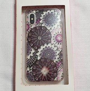 Vera Bradley New in box iPhone x or xs phone case
